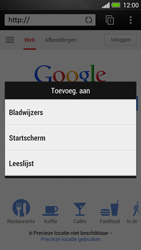 HTC One - Internet - hoe te internetten - Stap 6