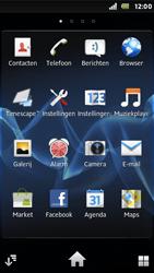 Sony ST25i Xperia U - MMS - Afbeeldingen verzenden - Stap 2