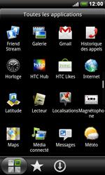 HTC S510e Desire S - MMS - envoi d'images - Étape 2