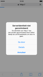 Apple iPhone 6 iOS 10 - Internet - Hoe te internetten - Stap 5