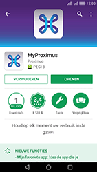 Huawei Y6 II - Applicaties - MyProximus - Stap 8