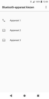 Sony Xperia XZ2 (H8216) - Contacten en data - Contacten overzetten via Bluetooth - Stap 9