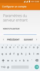 Wiko Freddy - E-mails - Ajouter ou modifier un compte e-mail - Étape 13
