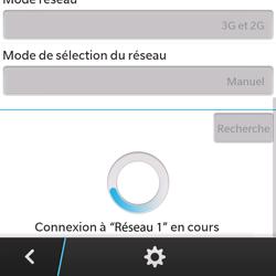 BlackBerry Q5 - Réseau - utilisation à l'étranger - Étape 13