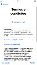 Apple iPhone 8 - Primeiros passos - Como ligar o telemóvel pela primeira vez -  20