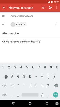 Huawei Nexus 6P - E-mail - envoyer un e-mail - Étape 8