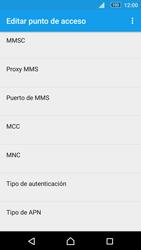 Sony Xperia M5 (E5603) - Mensajería - Configurar el equipo para mensajes multimedia - Paso 10