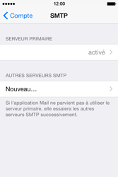 Apple iPhone 4s iOS 8 - E-mail - Configuration manuelle - Étape 20