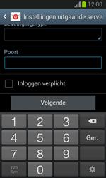Samsung S7390 Galaxy Trend Lite - E-mail - Account instellen (POP3 zonder SMTP-verificatie) - Stap 14