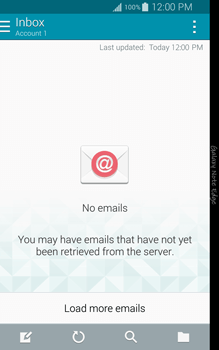 Samsung N915FY Galaxy Note Edge - Email - Sending an email message - Step 4