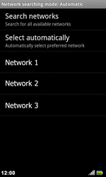Acer Liquid Metal S120 - Network - Usage across the border - Step 9