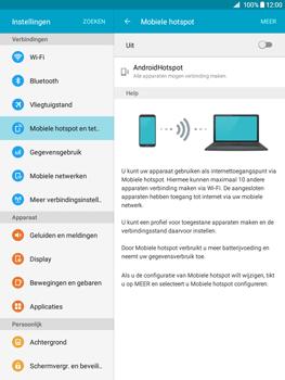 Samsung Galaxy Tab A 9.7 (SM-T555) - WiFi - Mobiele hotspot instellen - Stap 6