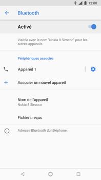 Nokia 8 Sirocco - Bluetooth - connexion Bluetooth - Étape 12