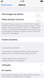 Apple iPhone 6 - iOS 11 - Bateria - Desactivar a gestão de desempenho -  4