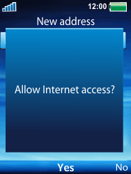 Sony Ericsson W100i Spiro - Internet - Internet browsing - Step 6