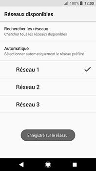 Sony Xperia XA2 Ultra - Réseau - Sélection manuelle du réseau - Étape 11