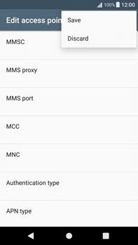 Sony Xperia XA1 Plus - Mms - Manual configuration - Step 15