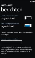 Nokia Lumia 610 - SMS - handmatig instellen - Stap 5