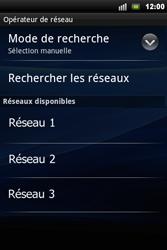 Sony Ericsson Xperia Mini Pro - Réseau - utilisation à l'étranger - Étape 12