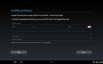 Samsung N8000 Galaxy Note 10-1 - Applications - Downloading applications - Step 13