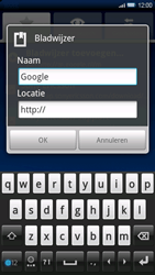 Sony Ericsson Xperia X10 - Internet - internetten - Stap 7