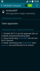 Samsung G900F Galaxy S5 - WiFi - Mobiele hotspot instellen - Stap 11