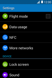 Samsung Galaxy Young 2 - Network - Usage across the border - Step 4