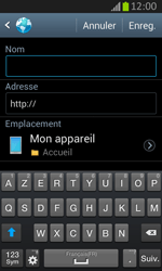 Samsung S7710 Galaxy Xcover 2 - Internet - Navigation sur Internet - Étape 10