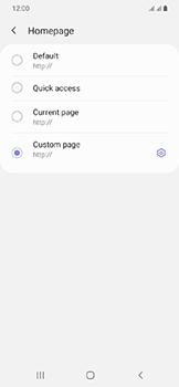 Samsung Galaxy A20e - Internet - Manual configuration - Step 30