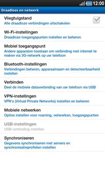 Samsung P1000 Galaxy Tab - Buitenland - Bellen, sms en internet - Stap 6