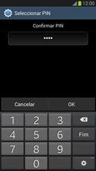 Samsung Galaxy S3 - Segurança - Como ativar o código de bloqueio do ecrã -  11
