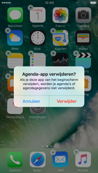 Apple iPhone 6s iOS 10 - iOS features - Verwijder en herstel standaard iOS-apps - Stap 4