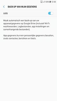 Samsung Galaxy J7 (2017) - Device maintenance - Back up - Stap 10