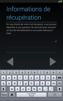 Samsung Galaxy Tab 3 8 4G - Premiers pas - Créer un compte - Étape 20