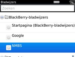 BlackBerry 9780 Bold - Internet - Internetten - Stap 10