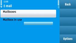 Nokia N97 - E-mail - Manual configuration - Step 6