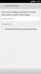 Sony LT28h Xperia ion - E-mail - Manual configuration - Step 5