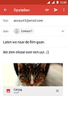 Nokia 3 - Android Oreo - E-mail - e-mail versturen - Stap 14