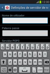 Samsung Galaxy Fame - Email - Configurar a conta de Email -  10