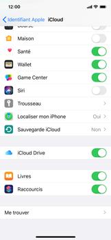 Apple iPhone XS - iOS 13 - Données - créer une sauvegarde avec votre compte - Étape 9