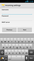 Acer Liquid Z5 - Email - Manual configuration - Step 8