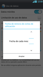 LG Optimus L9 - Internet - Ver uso de datos - Paso 7
