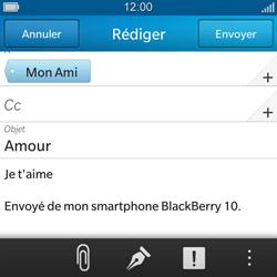 BlackBerry Q5 - E-mail - envoyer un e-mail - Étape 10