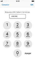 Apple iPhone 5s - iOS 12 - Segurança - Como ativar o código PIN do cartão de telemóvel -  7