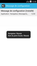 Huawei Ascend Y625 - Paramètres - Reçus par SMS - Étape 7