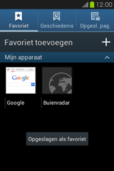 Samsung S6810P Galaxy Fame - Internet - Hoe te internetten - Stap 11