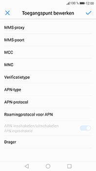 Huawei P10 Plus - MMS - handmatig instellen - Stap 11