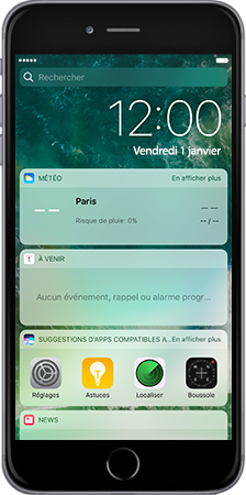 Apple Apple iPhone 6 Plus iOS 10 - iOS features - Liste des nouvelles fonctions - Étape 3