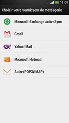 HTC Desire 601 - E-mail - Configuration manuelle - Étape 5