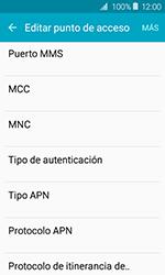 Samsung Galaxy J1 (2016) (J120) - Mensajería - Configurar el equipo para mensajes multimedia - Paso 10